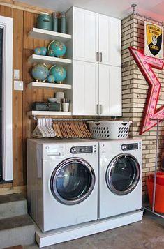 Organizando Lavanderias Pequenas | Design Innova                                                                                                                                                      Mais