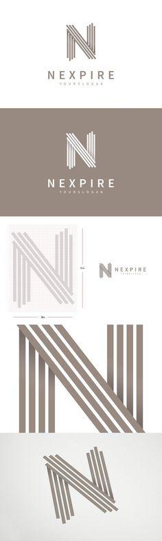 """N"" Letter Logo Template More - Graphic Templates Search Engine N Logo Design, Web Design, Identity Design, Typography Design, Design Ideas, Dot Logo, Church Logo, Logo Branding, Logos"