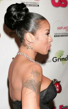 Swell Keyshia Cole Short Hairstyles And Hairstyles On Pinterest Short Hairstyles Gunalazisus