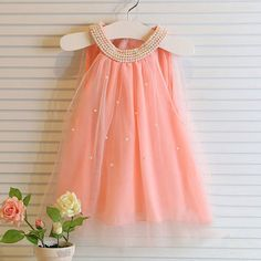 Vestidos de verano 2015 lindo bebé infantil ropa meisjes kleding princesa tutu dress robe bapteme para el bebé cumpleaños de la muchacha viste(China (Mainland))