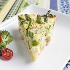 Skinny Chicken and Vegetable Frittata | Skinny Mom | Where Moms Get the Skinny on Healthy Living