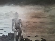 Surfart oilpainting check www.SurfArt.nl for details  #surfart #surf #painting