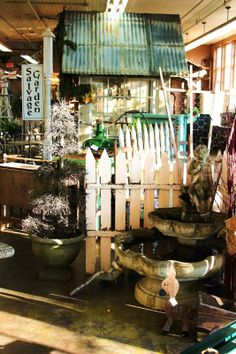 Monticello Antique Marketplace: Salvage Garden Transformation & Inspiration...