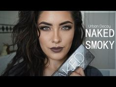 Urban Decay Naked Smoky Palette tutorial | Melissa Alatorre - YouTube