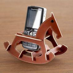 (35) Fab.com | Rocking Horse Phone Holder Brown