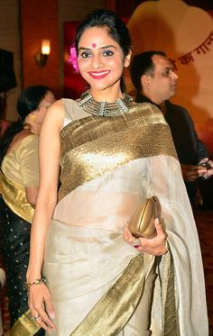 Madhoo at the launch of 'Dream Girl' album. #Bollywood #Fashion #Style #Beauty #Desi #Saree #Page3