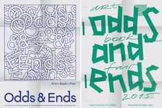 yalegraphicdesign:    Anton Sovetov (MFA 2016)  Odds and Ends Art Book Fair Posters 2015