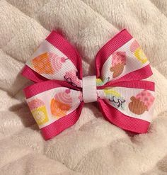 girly hair styles s day stacked bow only 4 50 plus shipping 6394