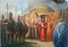 Byzantine military ceremony in Constantinople Ancient Rome, Ancient History, Modern Empire, Byzantine Army, Christian Religions, Medieval World, Early Middle Ages, New Museum, Ottoman Empire