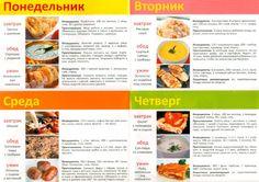 Как составить меню на неделю http://www.liveinternet.ru/users/4185652/post286339875/