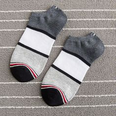 Mens Patchwork Cotton Boat Socks Stripe Casual Breathable Elastic Ankle Sock is cheap and designer, see other cool socks on NewChic. Pineapple Socks, Kids Socks, Men's Socks, Short Socks, Designer Socks, Cool Socks, Ankle Socks, Cotton Style, St Kitts And Nevis