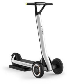 The three-wheeled Segway KickScooter has a semi-autonomous mode allowing it to return to its wireless charging dock. KickScooter scooter is developed… Motorcycle Tips, Motorcycle Style, Motorcycle Quotes, Custom Choppers, Custom Motorcycles, Triumph Motorcycles, Trike Scooter, Best Electric Scooter, Electric Cars