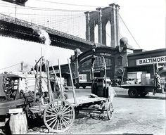 Brooklyn Bridge, Pier 21, Pennsylvania Railroad, March 23, 1937