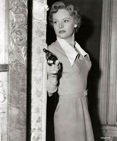 Alexis Smith in Undercover Girl (1950)