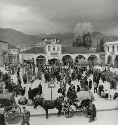 Agios Vasilios square at Tripoli town Arcadia Peloponnese Greece, Dolores Park, Painting, Memories, Art, Greece Country, Memoirs, Art Background, Souvenirs