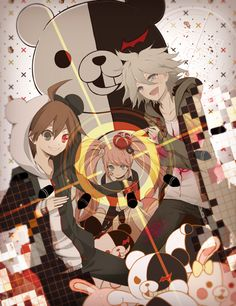 Dangan Ronpa by Uviski on deviantART