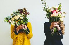 Floral fun with friends