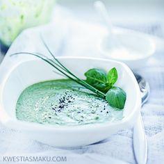 Zupa z bobu ze szpinakiem i szynką - Kwestia Smaku
