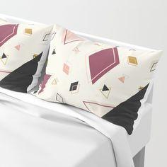 Rhombus Mix #society6 #decor #buyart Pillow Sham
