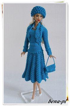 Bena PL Clothes for Fr Victoire Roux Silkstone Vintage Barbie OOAK Outfit | eBay