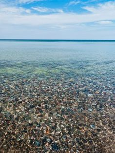 Lake Superior Cobblestone Beach, Ed Post Photography, Upper Peninsula Michigan
