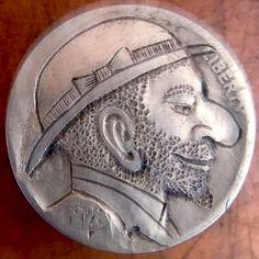 Anatoly Lerenman - 1928 Smiling Man in Hat