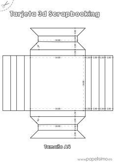 Plantilla-marco-3D-de-papel-tamano-A4-Scrapbooking.jpg (1240×1754)
