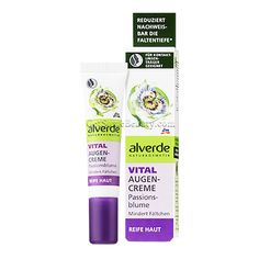 ALVERDE Natural Cosmetics Vital Eye Cream Passionflower (Mature Skin 40+) 15 ml | Get Some Beauty