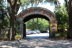 Fountain of Youth - St. Augustine, FL