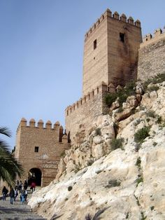 Alcazaba Almería *** photo Robert Bovington *** http://www.panoramio.com/user/2391258