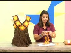 BLUSA NUANCE EM CROCHÊ ( 1ª parte ) # Elisa Crochê - YouTube