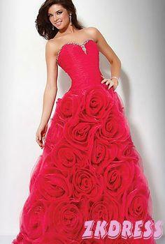 Rose prom dress prom dresses