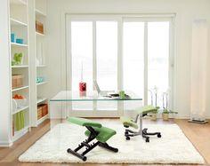 Multi Balans Kneeling Chair by Varier   Back In Action. Foldable, adjustable, comfortable. A Peter Opsvik Design original.