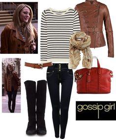 """Gossip Girl 1x01 - Serena"" by rossellalola on Polyvore"