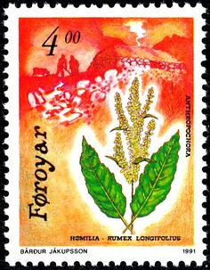 De postzegels van Faroer in 1991