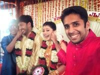 Sameepam Nice Actress Nimisha Suresh Marriage Photos