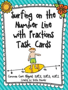 As we continue to transition to the Common Core State Standards, I'm noticing the largest gaps for my students lie in the fracti. 3rd Grade Fractions, Fourth Grade Math, Math Fractions, Maths, Equivalent Fractions, Math Games, Math Activities, Line Math, Math Classroom