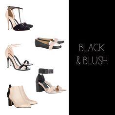 BLACK & BLUSH shoes