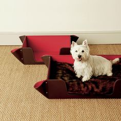 Faux Leather Dog Bed, Small