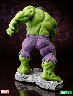 Kotobukiya Unveils Photos of their Upcoming Hulk Classic Avengers Fine Art Statue - More Than Just Reviews