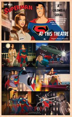 Superman Classic by Des Taylor by DESPOP.deviantart.com on @deviantART
