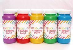 Rainbow Birthday Party DIY PRINTABLE by ShopCelebrationLane