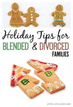 Holiday tips for Blended and Divorced Families | Wonderful advice for co-parenting and holidays after divorce.