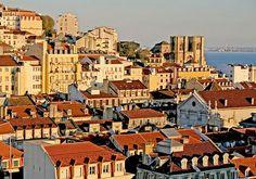 Lisbon at sunset!