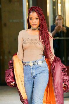 KEKE LAUREN PALMER Fashion | Famous Beautiful Black Girls