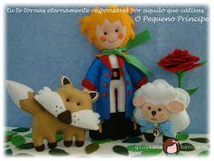 giuliana handmade: MOLDE O PEQUENO PRÍNCIPE EM FELTRO - Meu molde do mês!