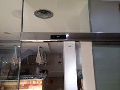 puerta automatica de cristal Nice