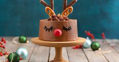 Christmas Deserts, Christmas Baking, Christmas Decorations, Christmas Ornaments, Christmas Meals, Reindeer Cakes, Sweet Pastries, High Tea, Cake Decorating