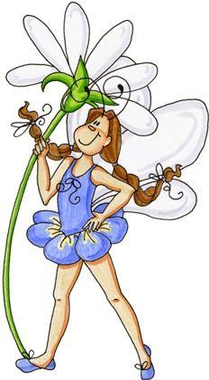 Fairy with Daisy