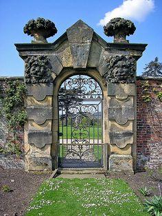 ARCHITECTURE – Garden Gate - Castle Howard